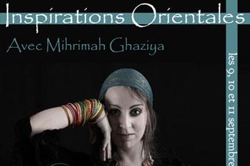 4 stages de danses traditionnelles d'Asie et fusions arabo-orientales avec Mihrimah Ghaziya