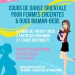 Belly Mom's : cours de danse orientale pour femmes enceintes et duos maman-bébé