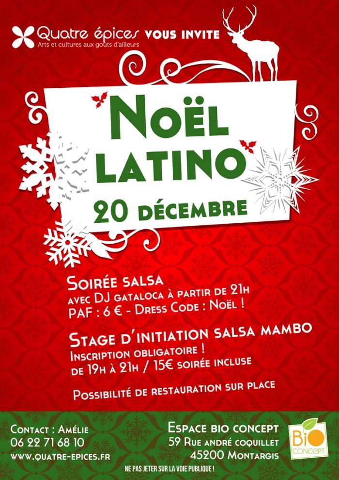 Noël Latino Montargis