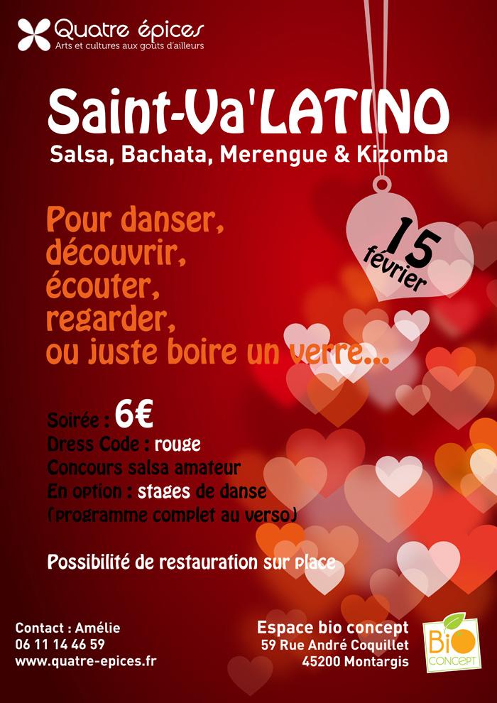Soirée salsa Montargis - Saint Va'latino