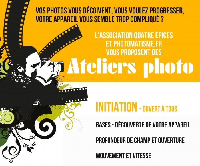 Atelier photo avec Yann Pagès - Photomatisme - Quatre Epices