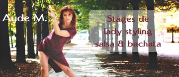 lady styling salsa et bachata Montargis